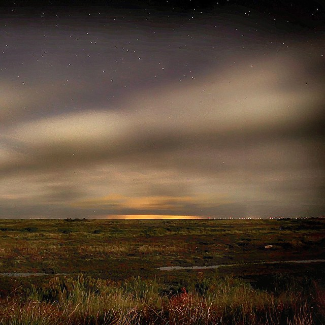 Northern Lights at Holme-next-the-Sea - photo © Ben Green Photography