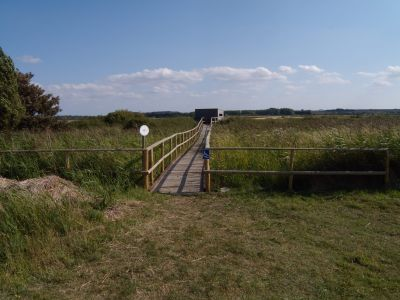 NOA hide with disabled access, Holme-next-the-Sea - Photo Tony Foster