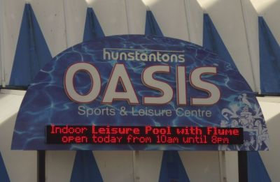 The Oasis Sports and Leisure Centre, Hunstanton - Photo Tony Foster
